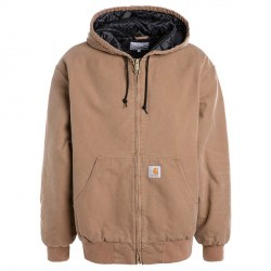 VESTE CARHARTT WIP OG ACTIVE JACKET - HAMILTON BROWN AGED CANVAS