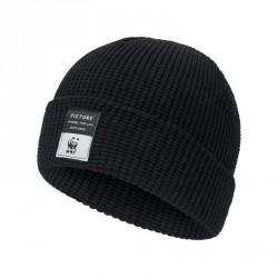 BONNET PICTURE ORGANIC WWF WORK - BLACK