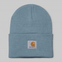 BONNET CARHARTT WIP ACRYLIC WATCH HAT - COLD BLUE