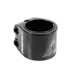 COLLIER DE SERRAGE FASEN 2 BOLT CLAMP - BLACK