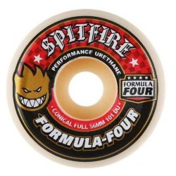 ROUES SPITFIRE FORMULA FOUR CONICAL FULL 101D - 56MM