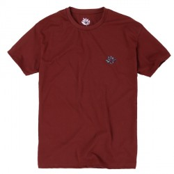 T-SHIRT MAGENTA CONSTELLATION TEE - BURGUNDY