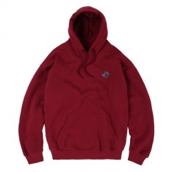 SWEAT MAGENTA CONSTELLATION HOODIE - BURGUNDY