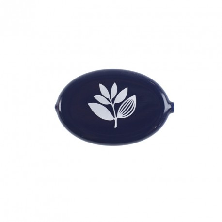 PORTE-MONNAIE MAGENTA EGG COIN HOLDER - NAVY