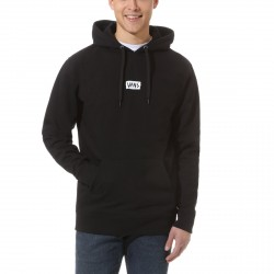 SWEAT VANS SCRATCHED HOODIE - BLACK