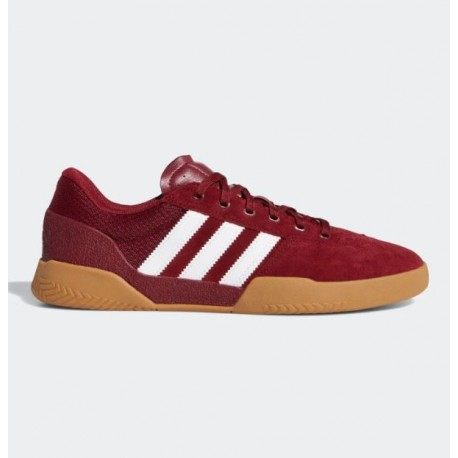 CHAUSSURES ADIDAS CITY CUP - COLLEGIATE BURGUNDY
