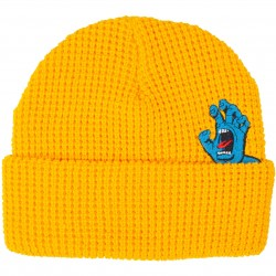 BONNET SANTA CRUZ SCREAMER BEANIE - GOLD