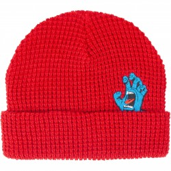 BONNET SANTA CRUZ SCREAMER BEANIE - DEEP RED