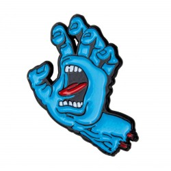 PIN'S SANTA CRUZ SCREAMING HAND - BLUE