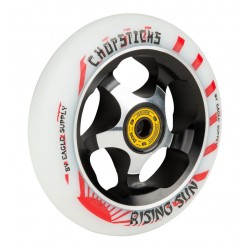 ROUE CHOPSTICKS SCOOTER RISDING SUN 110MM - WHITE
