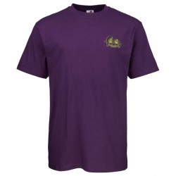 T-SHIRT SANTA CRUZ SMA NATAS PANTHER - PURPLE
