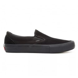 CHAUSSURES VANS SLIP ON PRO - BLACKOUT