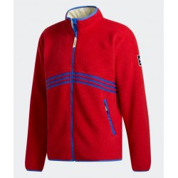 VESTE ADIDAS SHERPA FULL ZIP - POWER RED