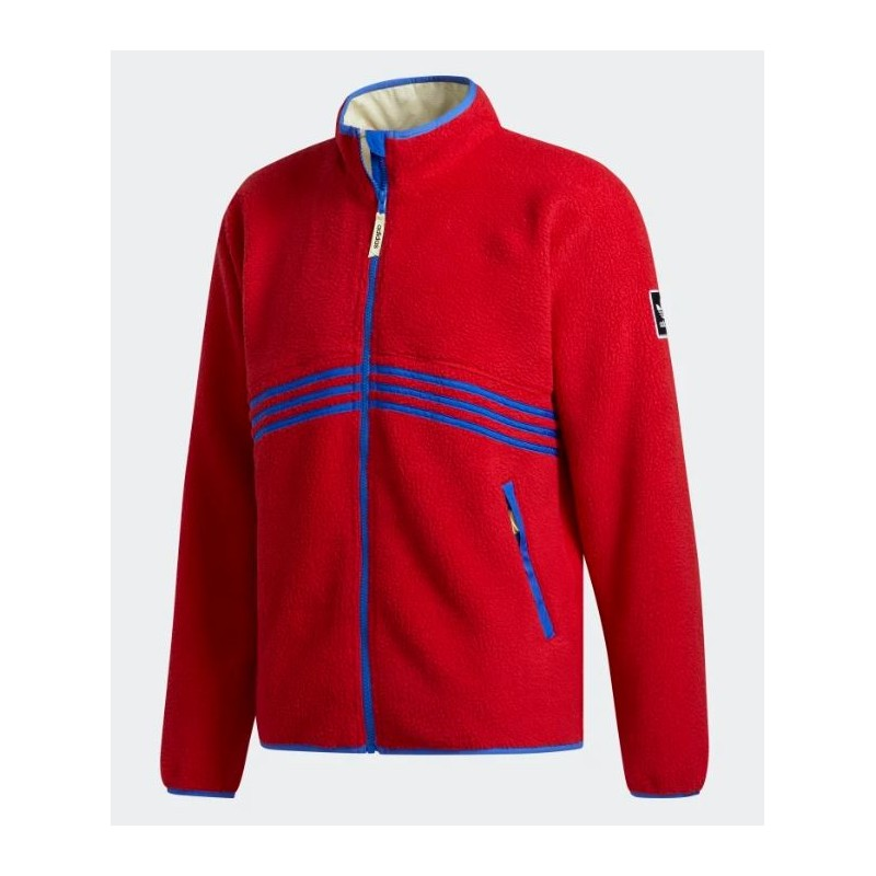 Veste Adidas Sherpa Full Zip Power Red