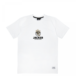 T-SHIRT JACKER ASHTRAY WORLD - WHITE