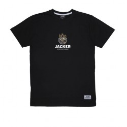 T-SHIRT JACKER ASHTRAY WORLD - BLACK
