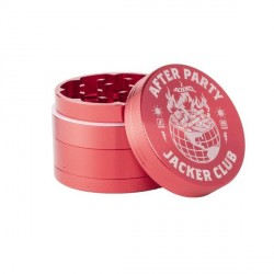 GRINDER JACKER ASHTRAY WORLD - RED
