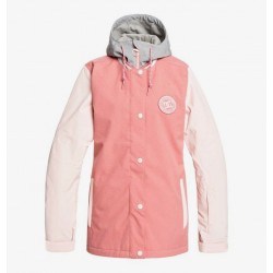 VESTE SNOW DC SHOES WMN DC LA - DUSTY ROSE