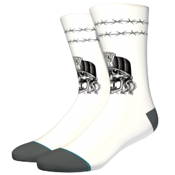 CHAUSSETTES STANCE MERCY WHITE