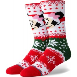 CHAUSSETTES STANCE MINNIE CLAUS MULTI