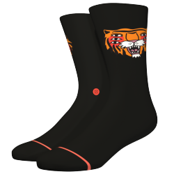 CHAUSSETTES STANCE CAVOLO TIGER CREW BLACK