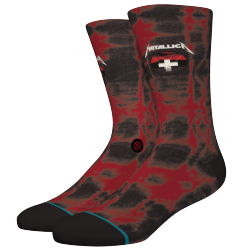 CHAUSSETTES STANCE MASTER OF PUPPETS BLACK