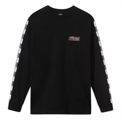 T-SHIRT VANS X BAKER SPEED CHECK LS - BLACK
