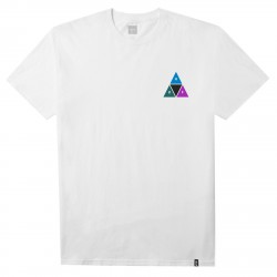 T-SHIRT HUF PRISM TT - WHITE
