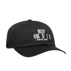 CASQUETTE HUF OR DIE 6 PANEL - BLACK