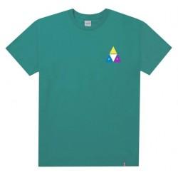 T-SHIRT HUF PRISM TT - QUETZAL GREEN