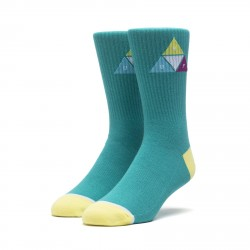CHAUSSETTES HUF PRISM TRIANGLE - QUETZAL GREEN