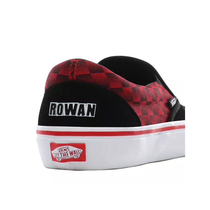 Vans x Baker Style 112 Pro | Vans, Red and black shoes