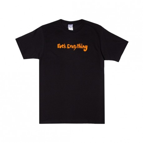 T-SHIRT RIPNDIP FUCK EVERYTHING - BLACK