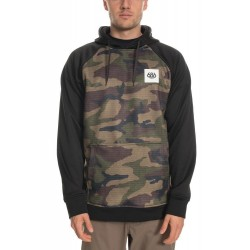 SWEAT 686 KNOCKOUT BOND FLC PULLOVER - CAMO
