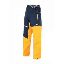 PANT SNOW PICTURE ALPIN - DARK BLUE YELLOW