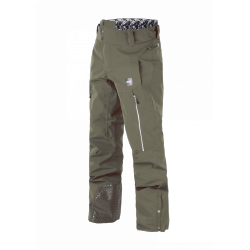PANTALON SNOW PICTURE ORGANIC OBJECT - DARK ARMY GREEN