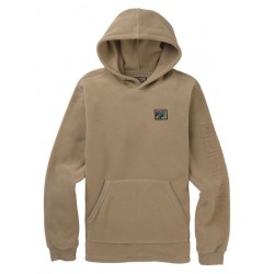 SWEAT BURTON WESTMATE HOOD - TIMBER WOLF