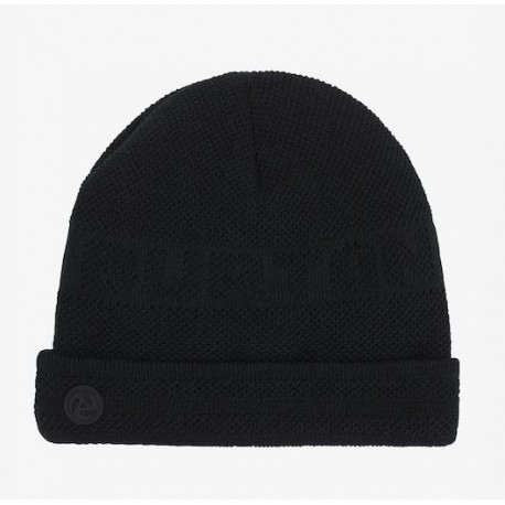 BONNET BURTON BACKCUT BEANIE - TRUE BLACK