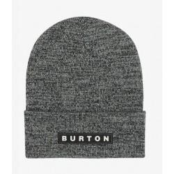 BONNET BURTON ALL 80 BEANIE - TRUE BLACK STOUT WHITE MARL