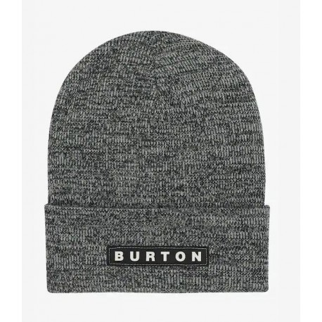 BONNET BURTON ALL 80 BEANIE - TRUE BLACK STOUT WHITE MARL