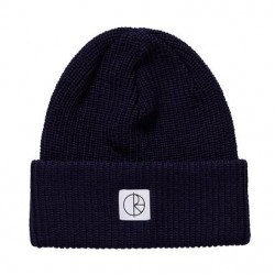 BONNET POLAR DOUBLE FOLD MERINO - RICH NAVY