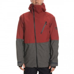 VESTE 686 GLCR HYDRA THERMAGRAPHE JACKET - RUST