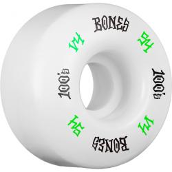 ROUES BONES 100'S WHITE 54MM
