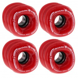ROUES SHARK WHEEL CALIFORNIA ROLL 60MM 78A - RED