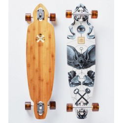 """LONGBOARD ARBOR BAMBOO MINDSTATE 37"""" COMPLETE"""