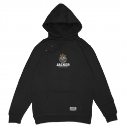 SWEAT JACKER ASHTRAY WORLD HOODIE - BLACK
