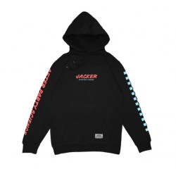 SWEAT JACKER HELL DAY HOODIE - BLACK