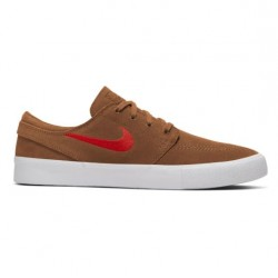 CHAUSSURES NIKE SB ZOOM JANOSKI RM - LT BRITISH TAN MYSTIC RED