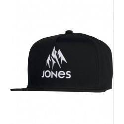 CASQUETTE JONES CAP JACKSON 20 - BLACK