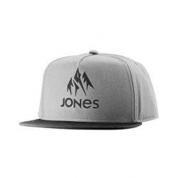 CASQUETTE JONES CAP JACKSON 20 - GRAY HEATHER